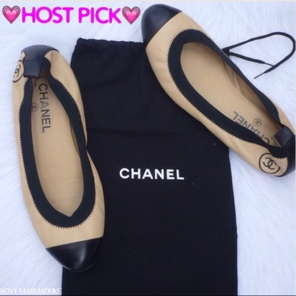 CHANEL Spirit Stretch Ballerina Flats shoes gift