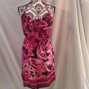 Dresses & Skirts - NWT Fall Colored Ruffled Bodice Dress