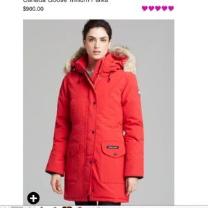 Canada Goose Jackets & Coats - Canada Goose Trillium Parka in Red. NEW With tags