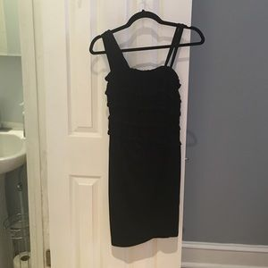 Anthropologie Simple black dress NWT