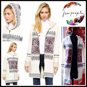Free People Sweaters - ❗1-HOUR SALE❗FREE PEOPLE Long Cardigan Coat