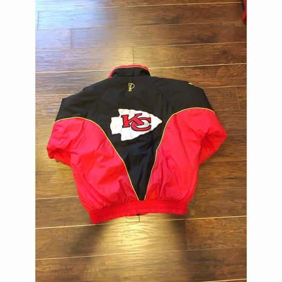 the best attitude 295cd 08a8e Pro Player NFL Kansas City Chiefs Jacket Vintage