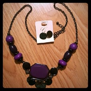 Jewelry - Purple Necklace Set