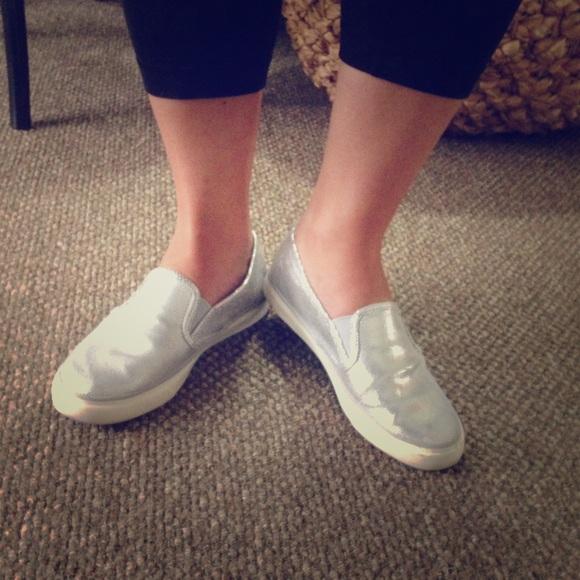 Sperry Seaside slip-on sneaker - Silver snakeskin.  M 57e1ade0c2845657b3011237 e57061e71