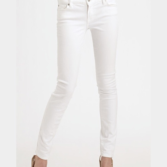 0b460ad683164 Hollister Pants - 3S Hollister Super Skinny White Denim Skinny Jeans