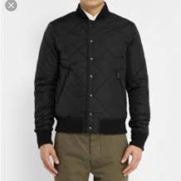 054c3ea3d Mens ASPESI wool dark grey bomber jacket