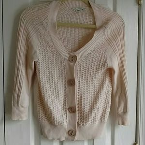 Heritage 1981 Sweaters - Off white Cable knit Cardigan