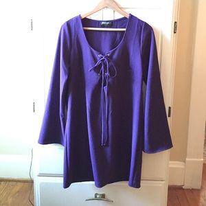 Purple Nasty Gal dress