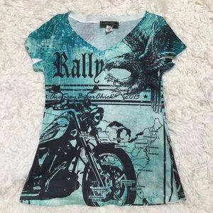 Harley-Davidson Tops - Sexy Biker Chic Motorcycle Shirt 💀 Harley