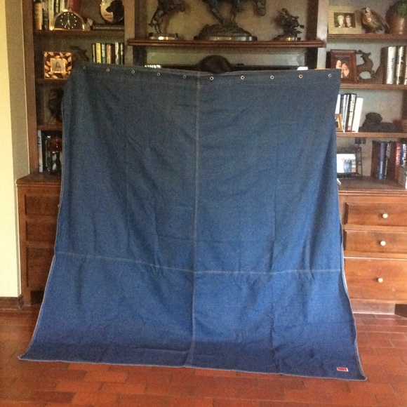 Tommy Hilfiger Other | Denim Shower Curtain | Poshmark
