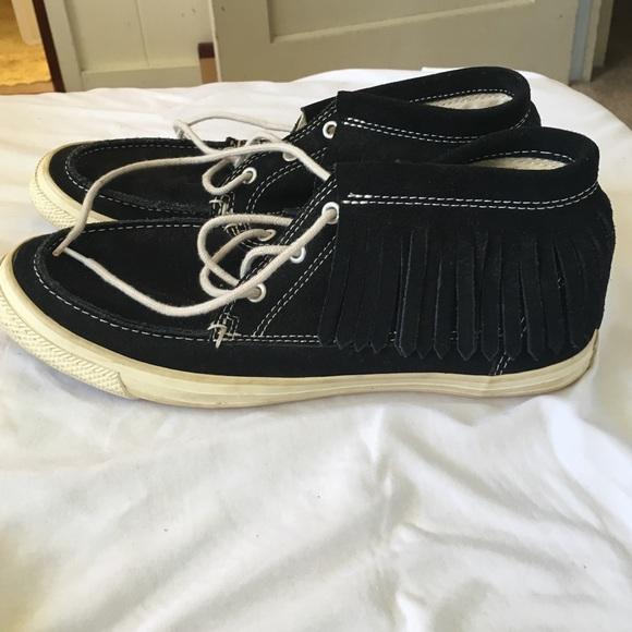 cf1270268702af Converse Shoes - Rare fringe converse