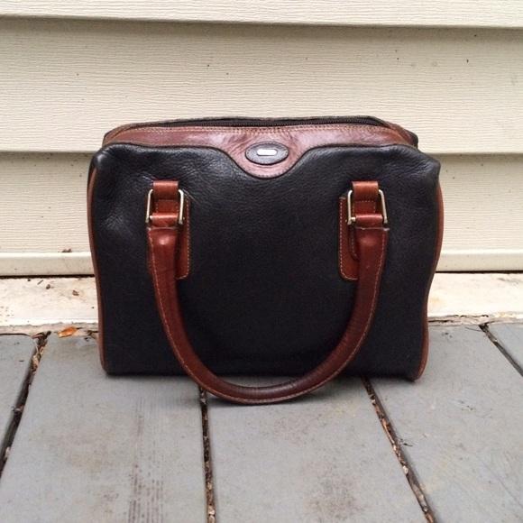 be3adb1bb1d5 Bally Handbags - BALLY Black vintage Leather satchel Doctor Bag