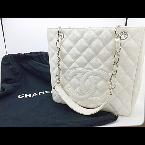 ecf6eee6d2da CHANEL Handbags - ❗️SALE❗️Caviar white CHANEL bag ( AUTHENTIC )