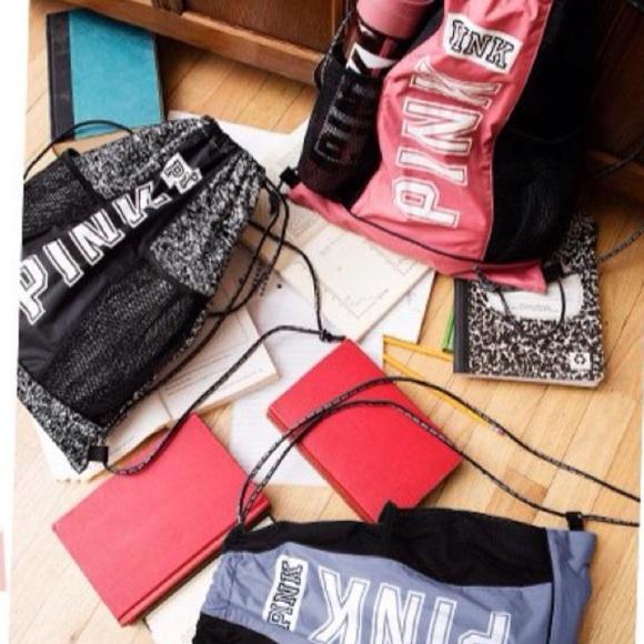 62% off PINK Victoria's Secret Handbags - VS PINK drawstring bags ...