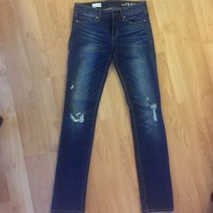 Gap 1969 Real Straight Jeans- full length size 24