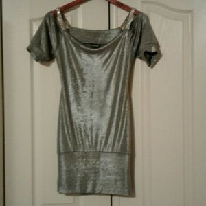 Frederick's of HOLLYWOOD tunic style top