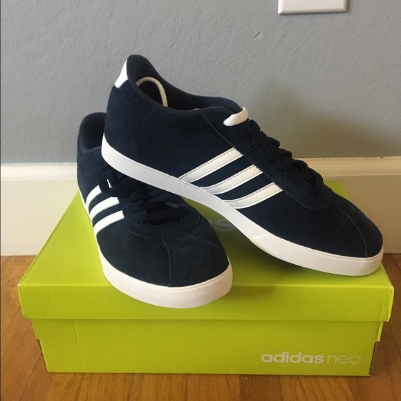 bb5c5538d622 brand new adidas neo navy blue shoes