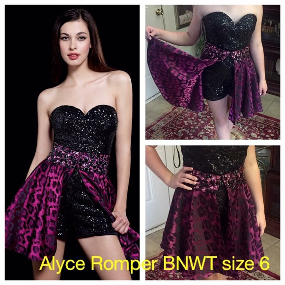 6a52f9c558e8 Alyce Romper with Detachable Skirt