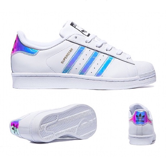 177f58593d24 Adidas Originals Superstar Iridescent Shoes