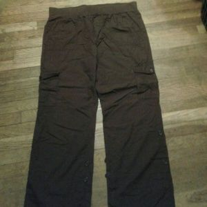 MATERNITY CHOCOLATE BROWN PANTS