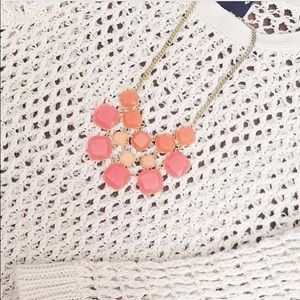 Coral Statement Necklace!