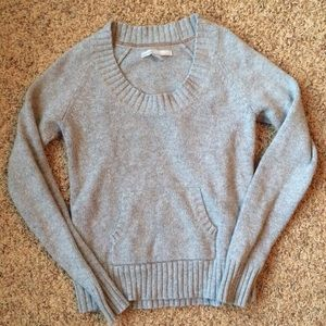 Old Navy Gray Long Sleeve Sweater M