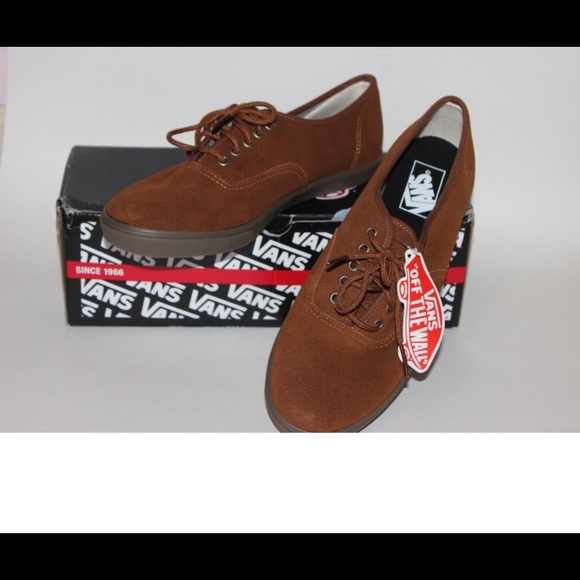 badce1fc41fb97 VANS Authentic Lo Pro Suede Monks robe NEW!!!