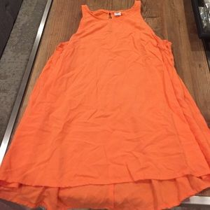 Old Navy Coral High Lo Swing Tank - Size Small