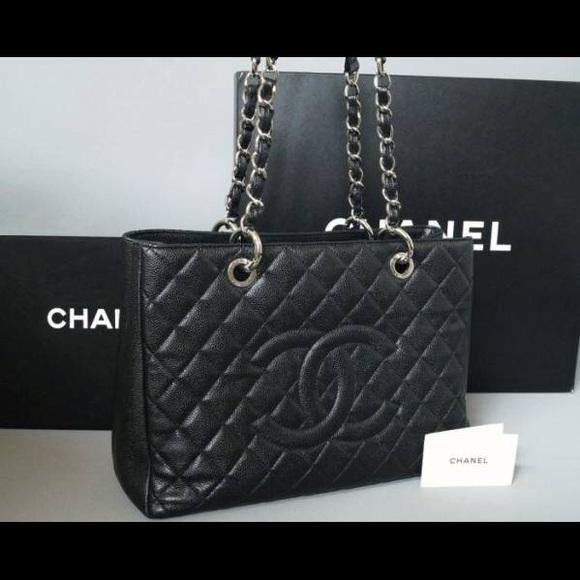 ef0e2bd34e2 CHANEL Bags   Pre Owned Authentic Tote Caviar   Poshmark