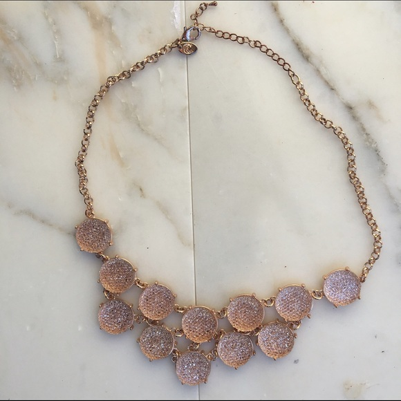 3665d22059 Jewelry | Rose Gold Chunky Pendant Necklace | Poshmark