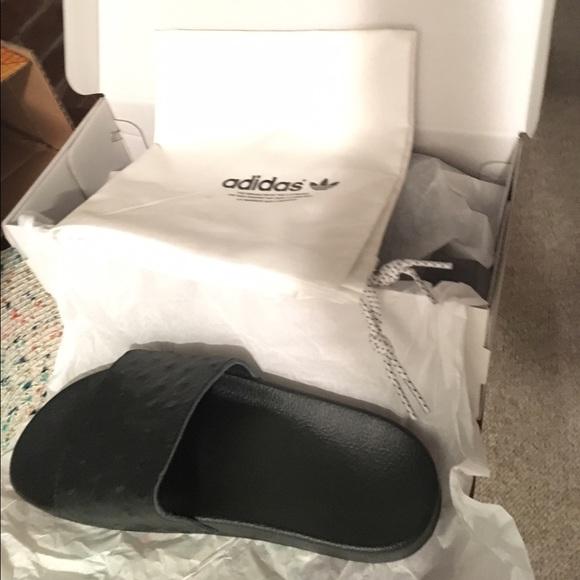 c9a41118a1a8 Adidas Shoes - Adidas Mi adilette premium sliders