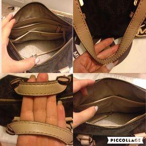 f685448a5148 Michael Kors Bags - Michael Kors Signature Grayson Medium Bro Satchel