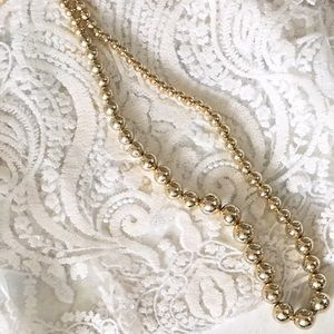 Jewelry - Statement Vintage Inspired Gold Necklace
