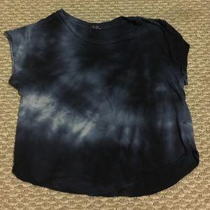 Brandy Melville tye dye crop top