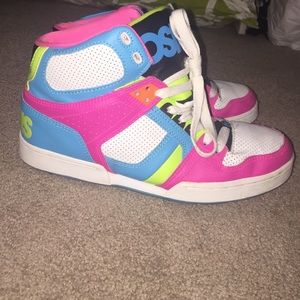 Osiris Shoes - Neon Osiris high tops