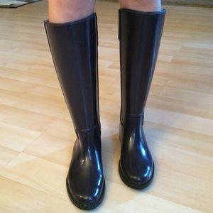 MICHAEL Michael Kors Shoes - Dark purple Michael Kors rain boots