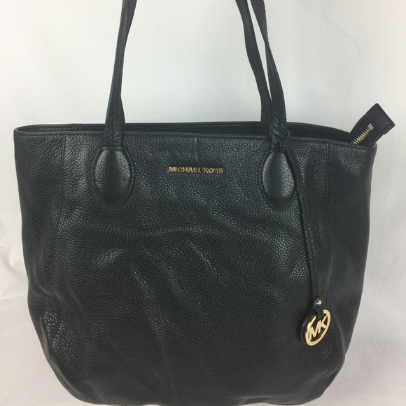 596e72d8cb86 Michael Kors Ani North South Top Zip Leather Tote.  M_57e203f94e8d17be3c020c64