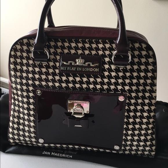 my flat in london Bags   Houndstone Broker Bowler Handbag   Poshmark 5cfa060907