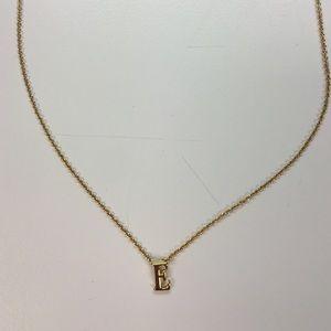 """Gorjana """"E"""" necklace"""