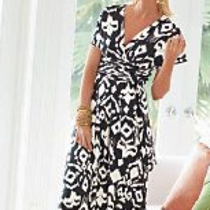 Soft Surroundings Dresses & Skirts - Soft Surroundings Black/White Convertible Dress