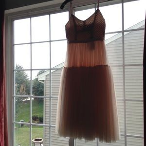 LAST CHANCE!Needle&Thread tulle embellished dress