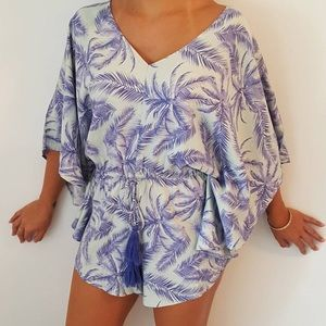 Tropical Romper size small
