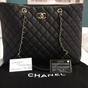 XXSOLDXX💯Auth Chanel Calfskin Large Shopper