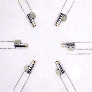 {Coming Soon} Bullet Fighting Hunger Necklace