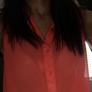 Naked Truth Tops - Beautiful Coral Blouse