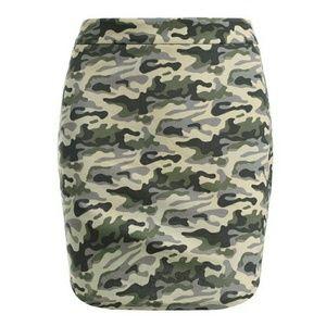 ❤BOGO High-Waisted Camo Print Skirt