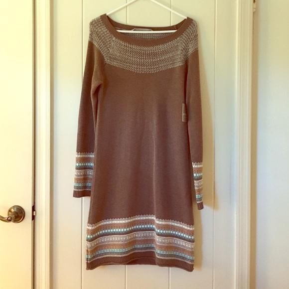 66% off Athleta Dresses & Skirts - Athleta fair isle sweater dress ...