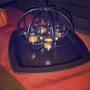 Other - Pumpkin candle holder