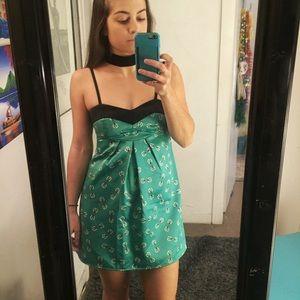 ☄ 1 of a kind SILK MINI DRESS