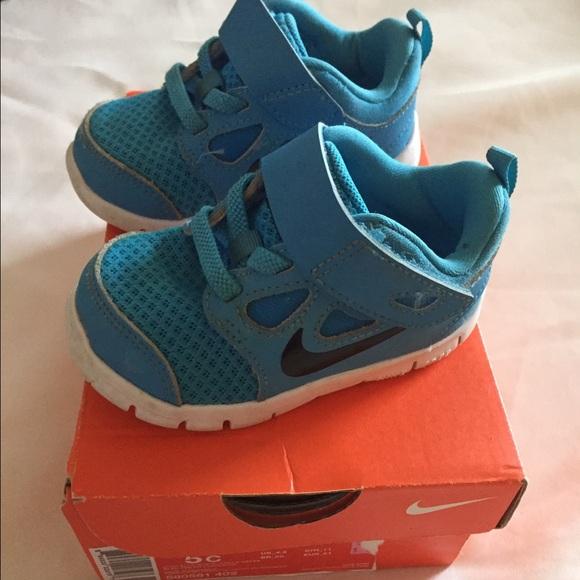 Sneaker Size 5c Infant Shoe Blue